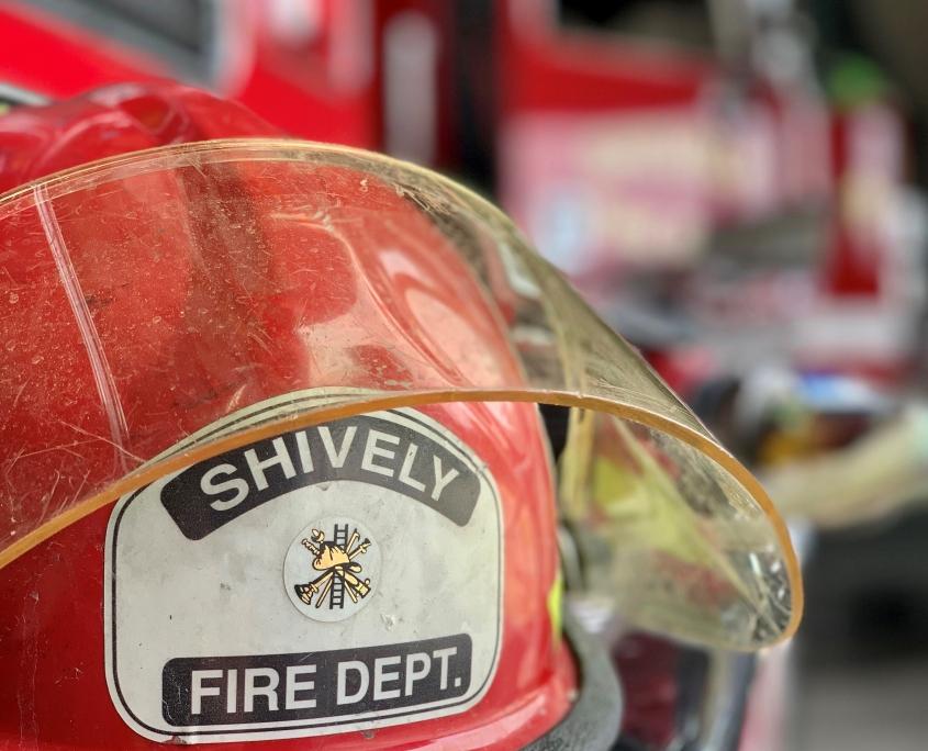 Shively Fire Helmet